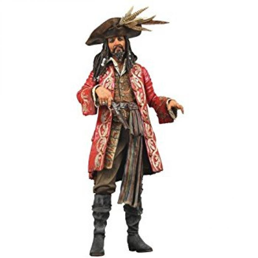 """Pirates of the Caribbean AWE Captian Teague 18"""" Action figure with Sound"""