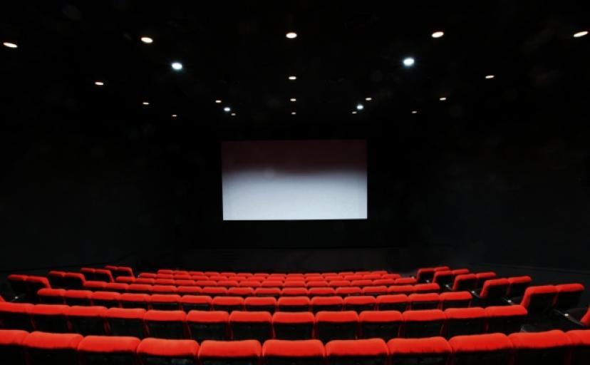 フリー素材 映画館