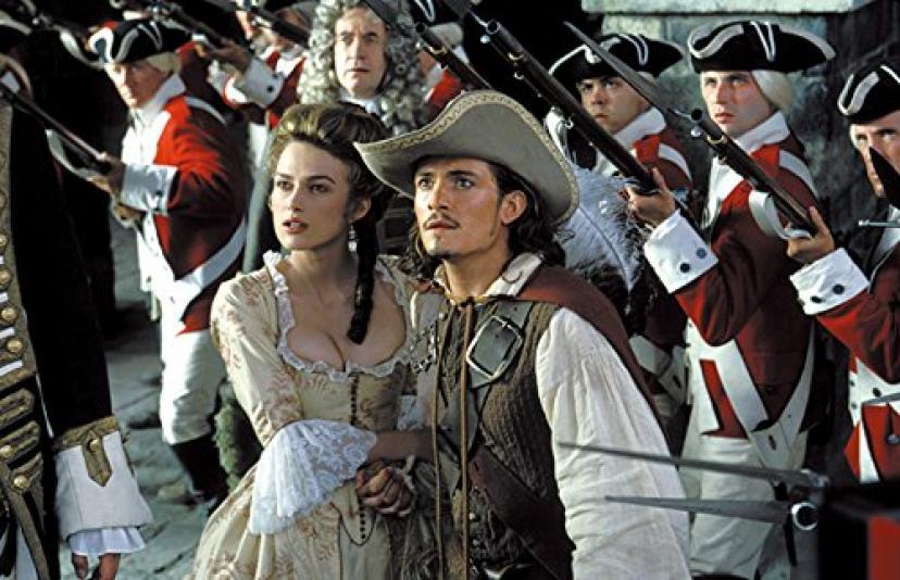 『パイレーツ・オブ・カリビアン/呪われた海賊たち』 ウィル、エリザベス