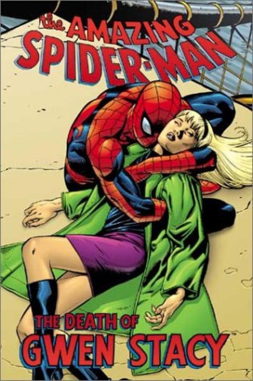 スパイダーマン『グウェン・ステイシーの死』