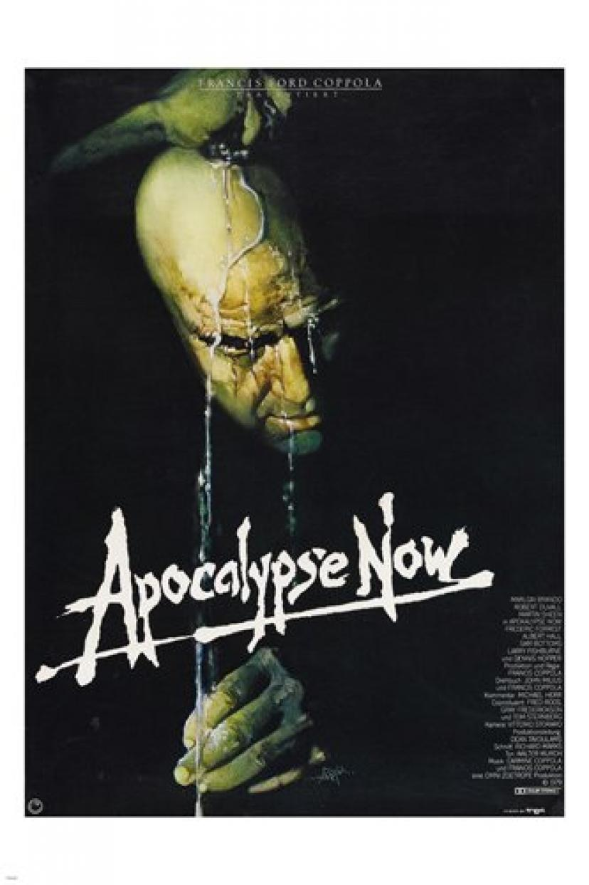 FRANCIS COPPOLA'S APOCALYPSE NOW MOVIE POSTER marlon brando 24X36 (reproduction, not an original)