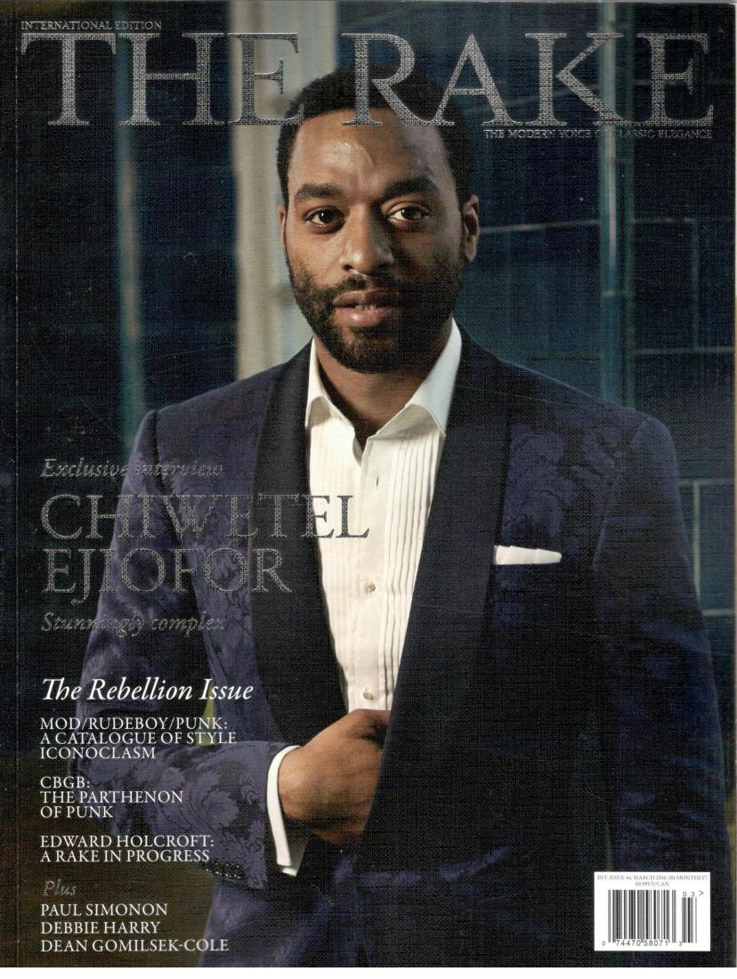 The Rake Magazine (Chiwetel Ejiofor,March 2016)