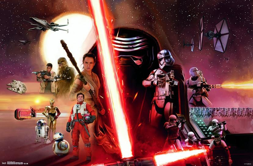 """Trends International Star Wars The Force Awakens Assorted Characters Wall Poster 22.375"""" x 34"""""""