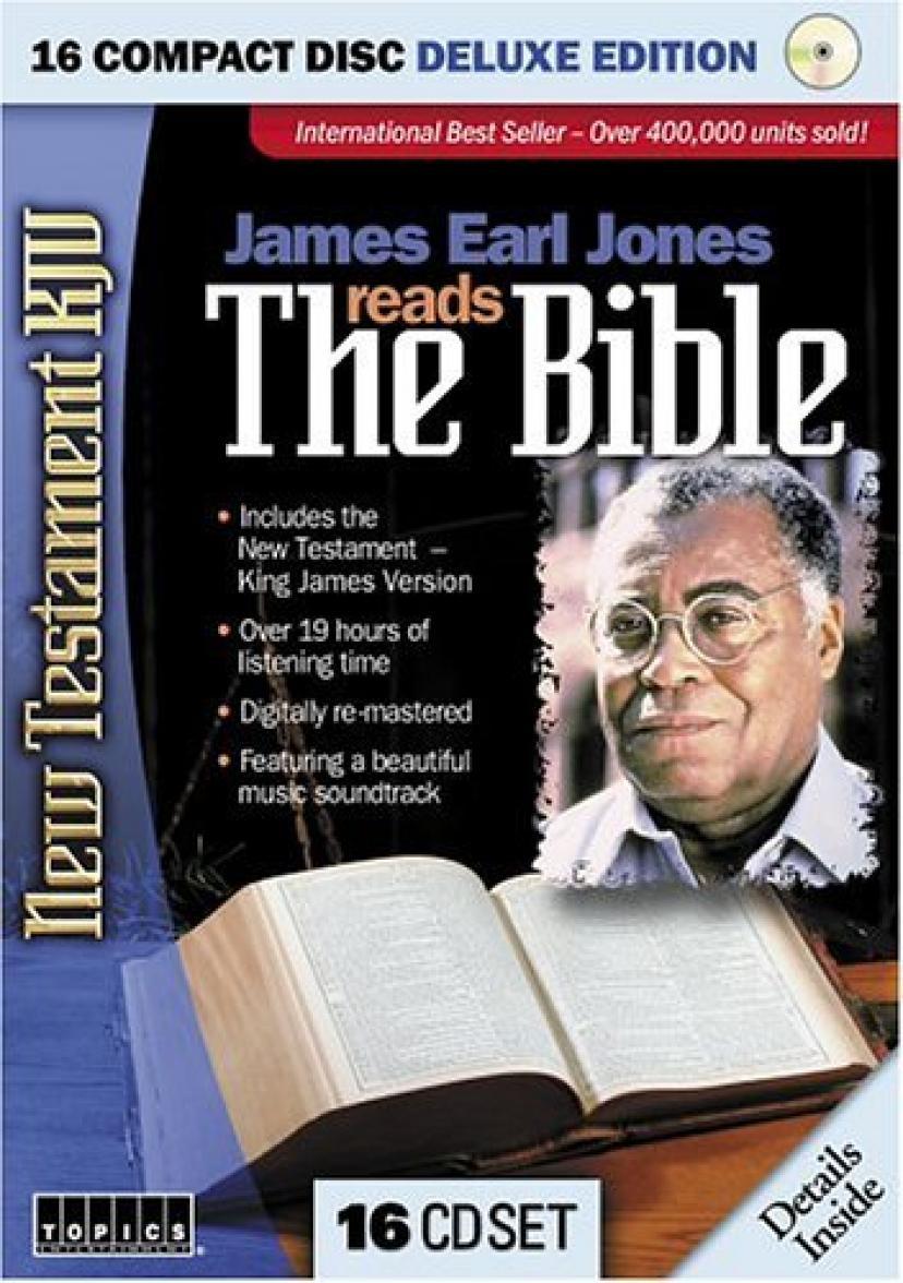 James Earl Jones Reads the Bible (Unabridged) [Audio CD]