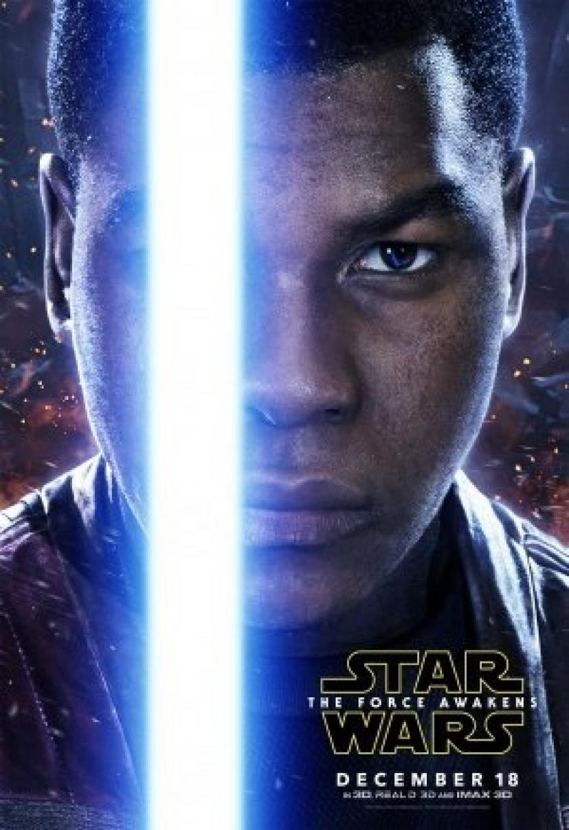 STAR WARS : THE FORCE AWAKENS – Finn - US Imported Movie Wall Poster Print - 30CM X 43CM Brand New Episode 7 VII