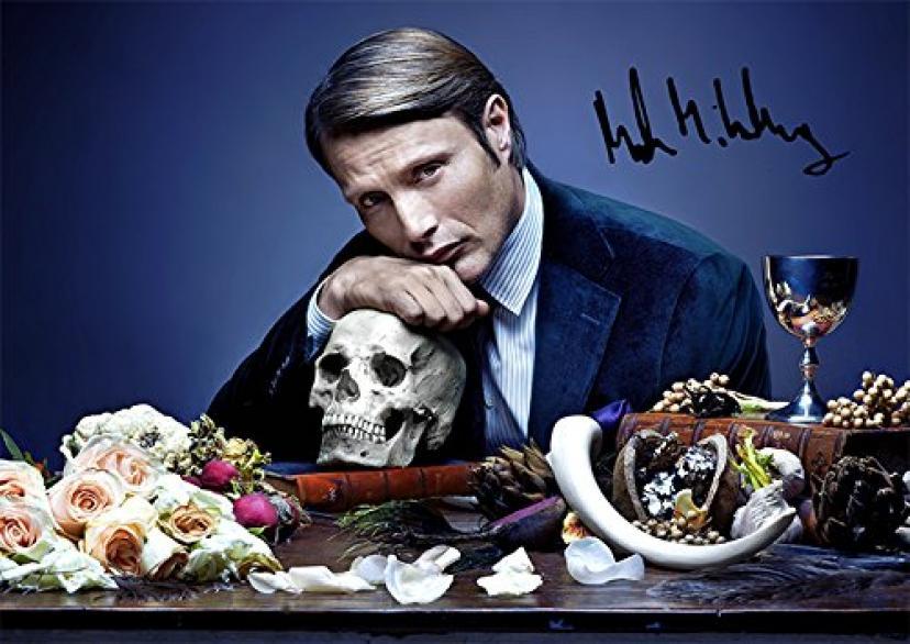 """Hannibal Tv Print Mads Mikkelsen (11.7"""" X 8.3"""")"""
