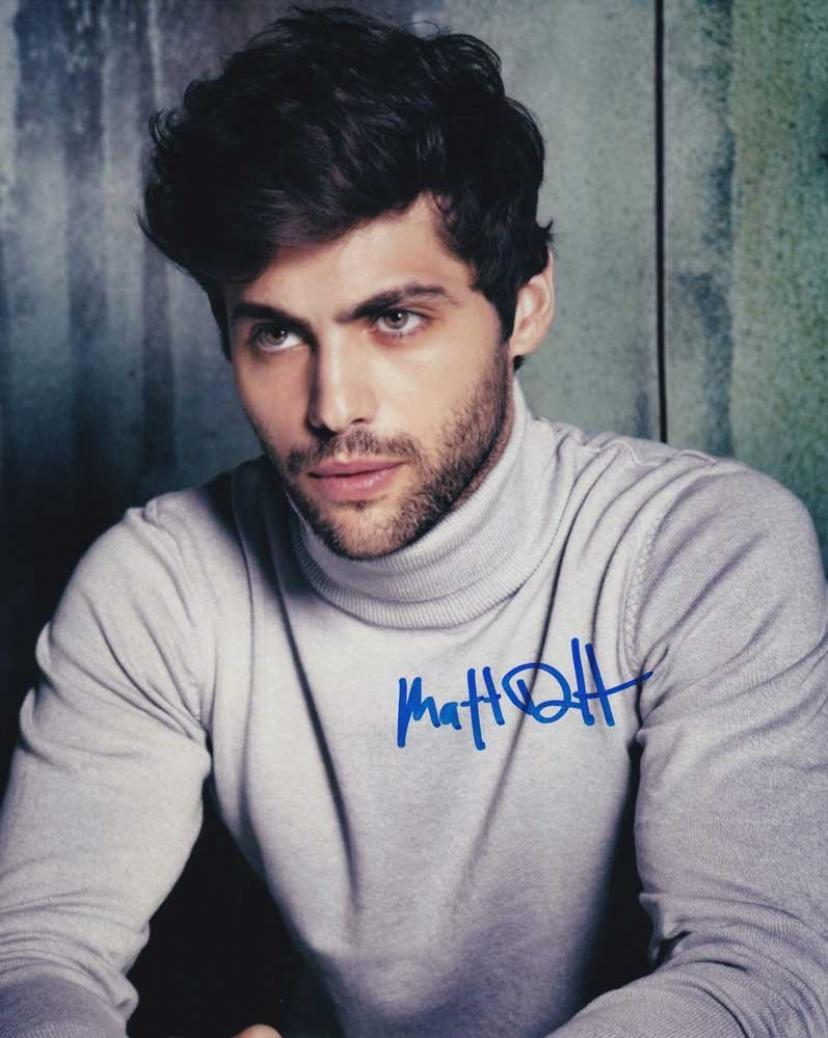 Click to open expanded view Matthew Daddario in-person autographed photo