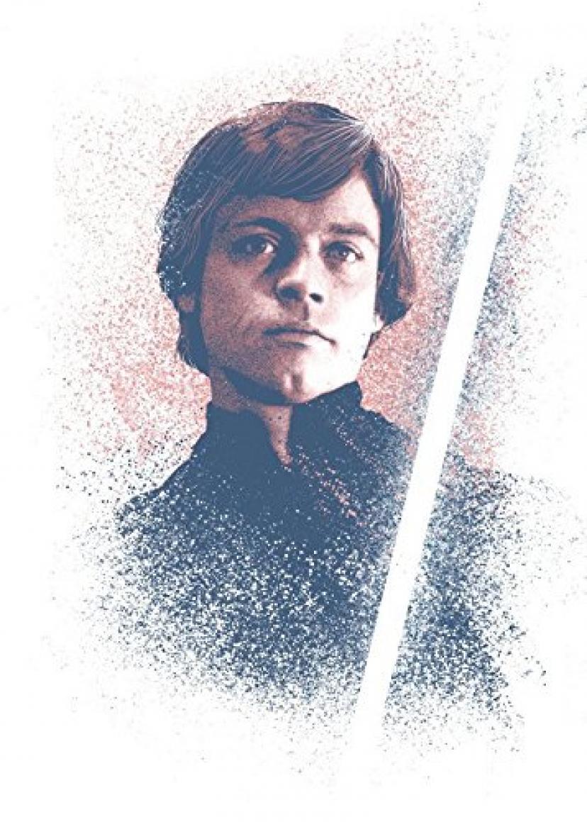 STAR WARSメタルポスターSuccessorsコレクションLuke Skywalker 32 x 45 cmポスターWallScrolls