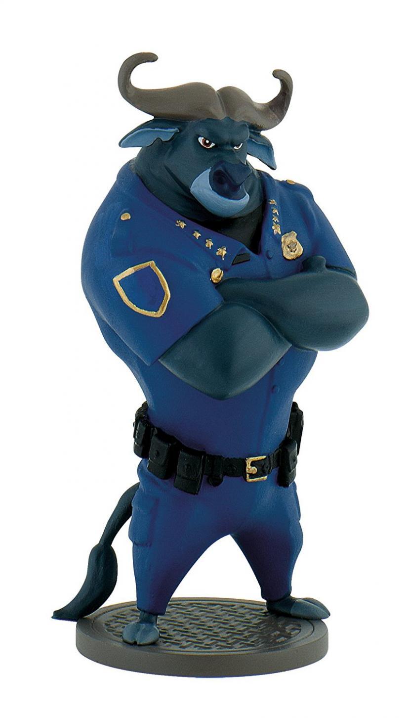 ズートピア ボゴ署長 フィギュア ブリーランド製 Zootropolis: Chief Bongo figure by Bullyland 13171【平行輸入品】