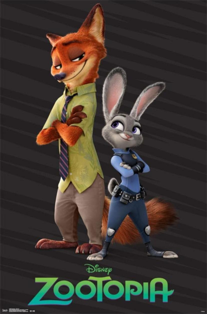 Zootopia- Partners Poster 22 x 34in