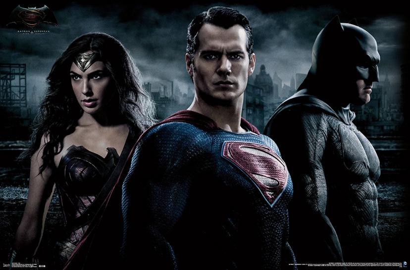 スーパーマン バットマン ワンダーウーマン