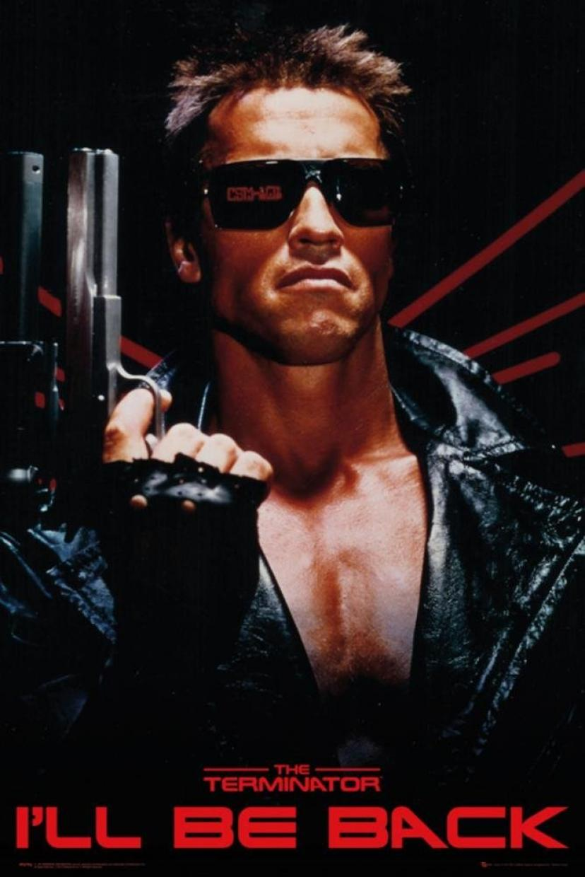 The Terminator - I'll Be Back Poster 24 x 36in