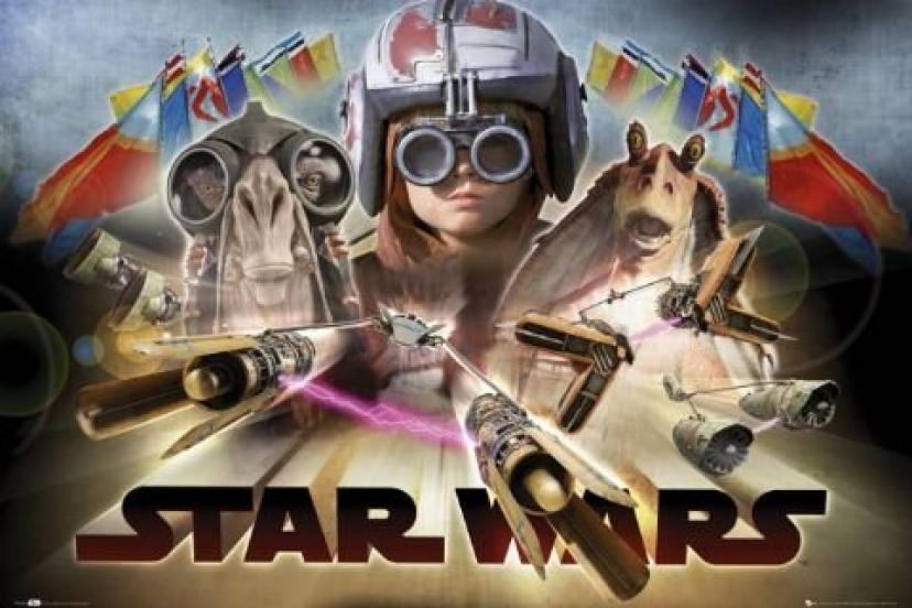 Star Wars - Episode 1 - Pod Race Poster - 61x91.5cm