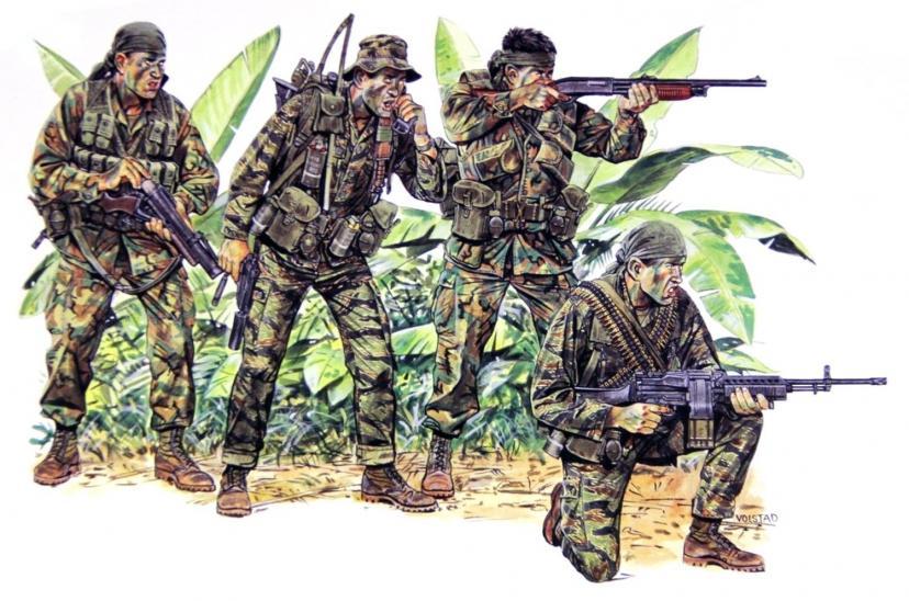 ドラゴン-ベトナム戦争-アメリカ海軍-プラモデル-