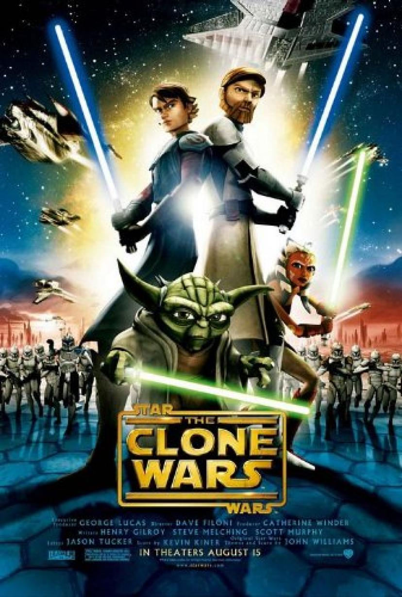 Star Wars: The Clone Wars, Original 24x40 Single-sided Regular Movie Poster