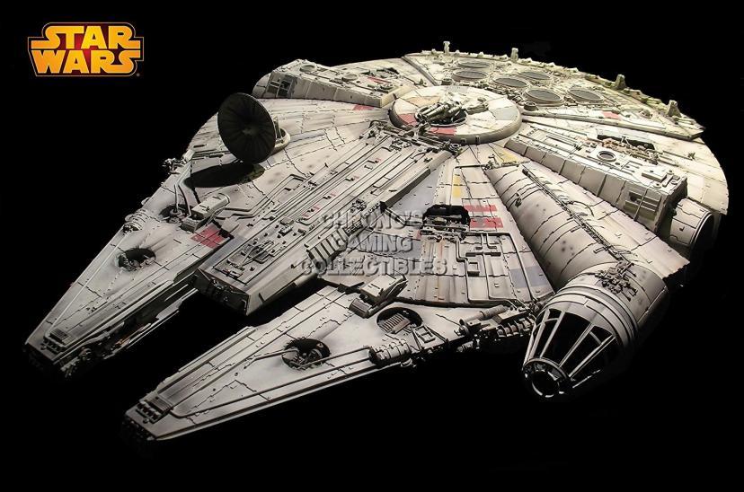 """CGC Huge Poster - Star Wars Millenium Falcon Episode I II III IV V VI Moive Poster - STW004 (24"""" x 36"""" (61cm x 91.5cm))"""
