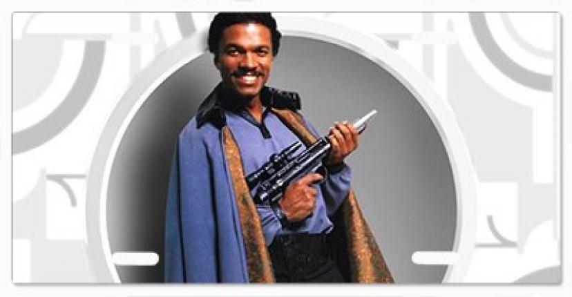 Star Wars Lando Calrissian Vanity License Plate Vanity License Plate
