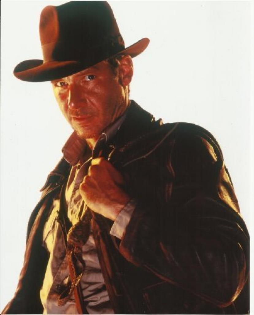 Indiana Jones Harrison Ford 8 x 10 Photo with whip over shoulder