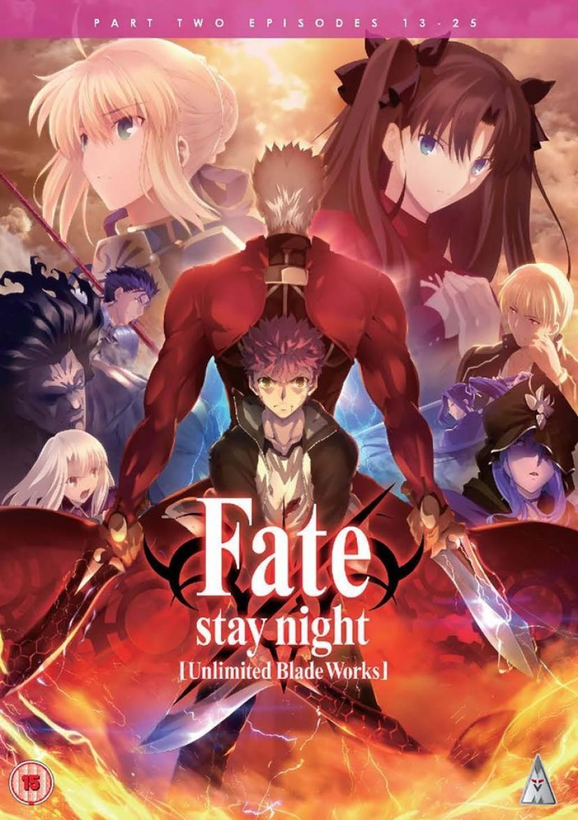 Fate Stay Night Unlimited Blade Works DVD-BOX 2/2(第13-25話)[Import]