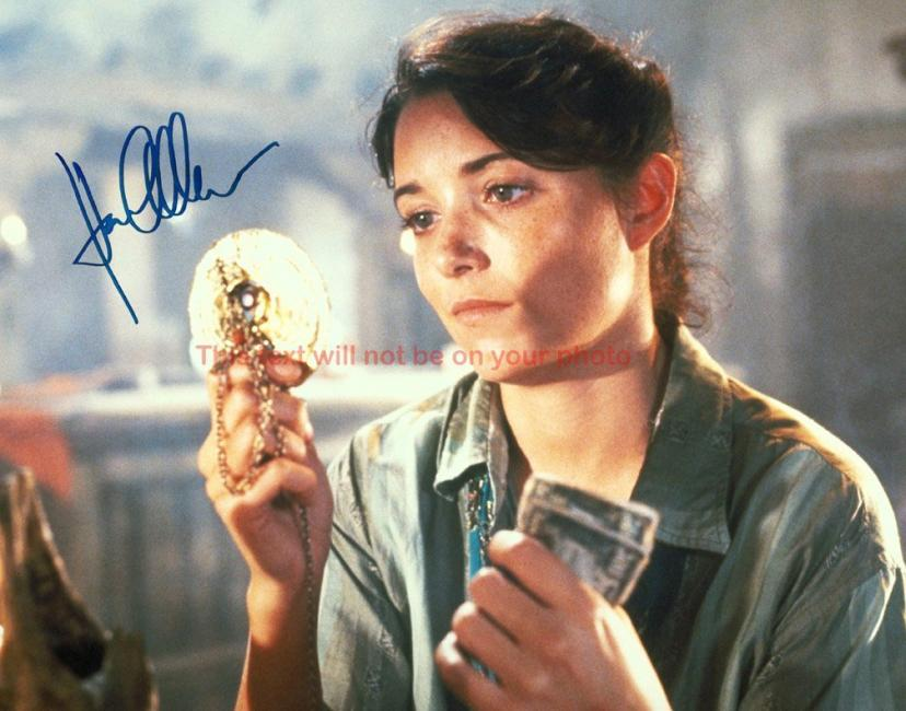 Indiana Jones and the Raiders of the Lost Ark Karen Allen Autographed 11x14 Poster Preprint Photo