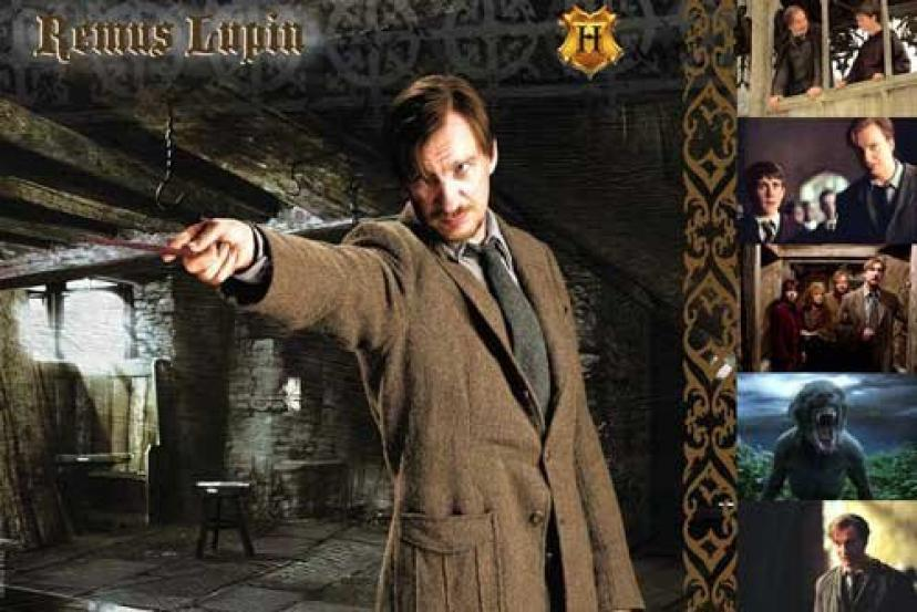 Harry Potter - Remus Lupin Giclee on Paper