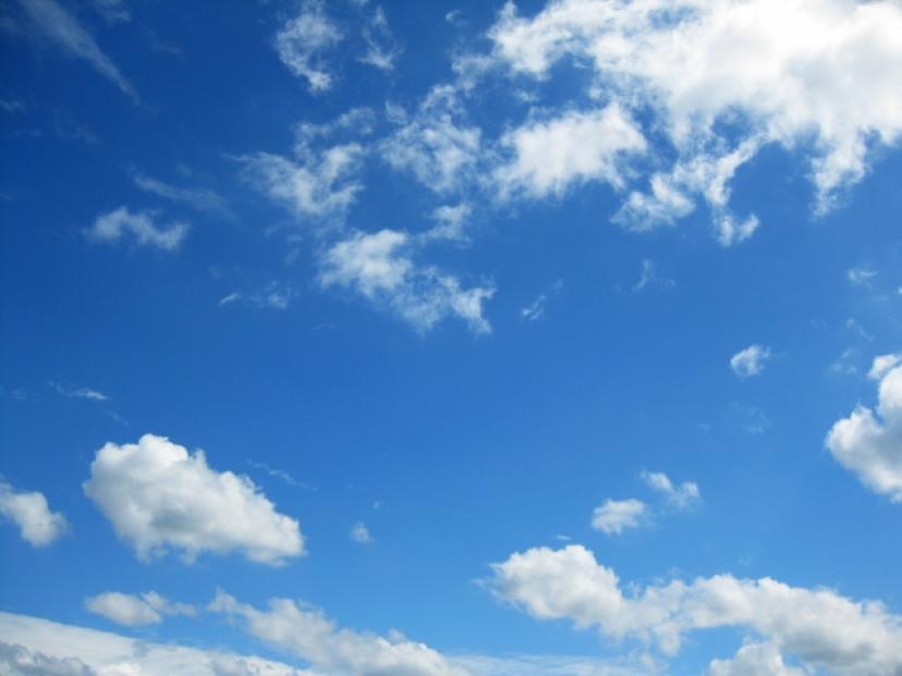 空、フリー画像