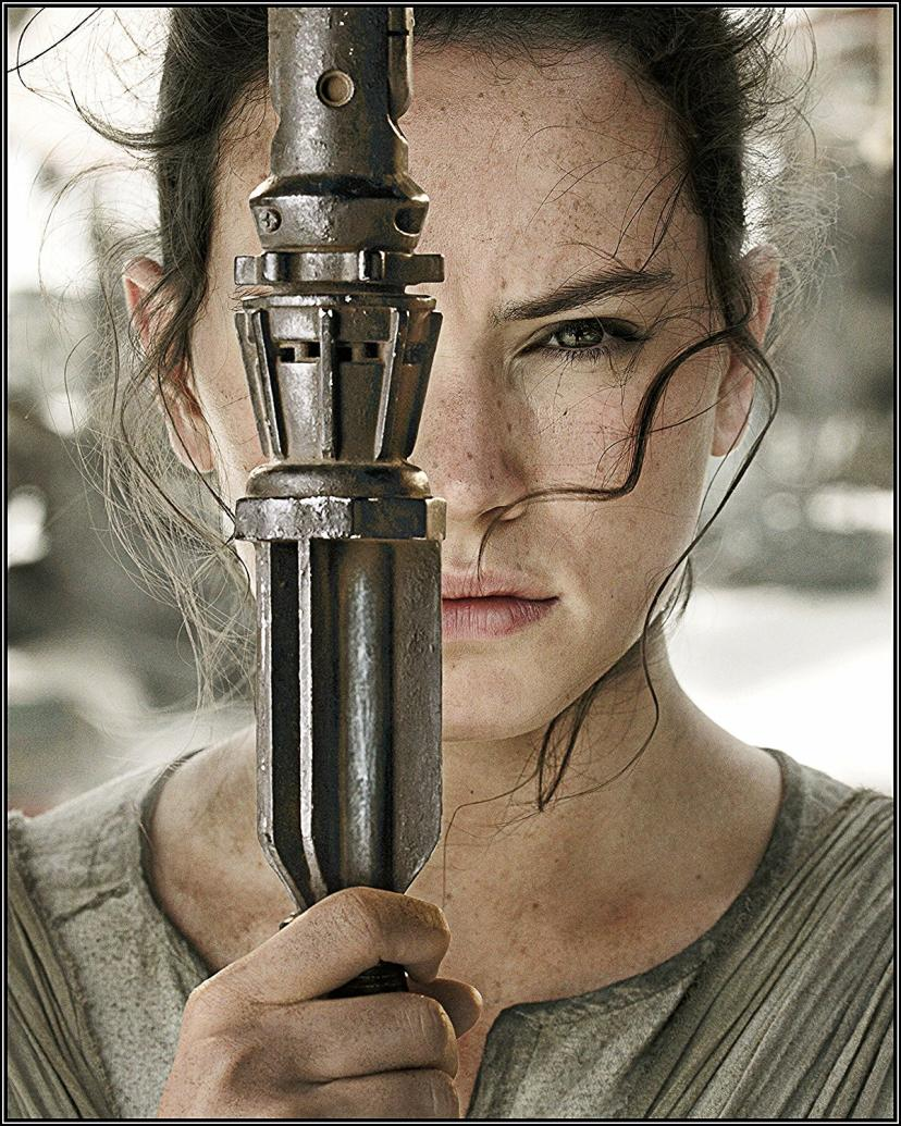 Daisy Ridley Photos - Rey in Star Wars Episode VII (7) the Force Awakens 6-pack of 8x10s