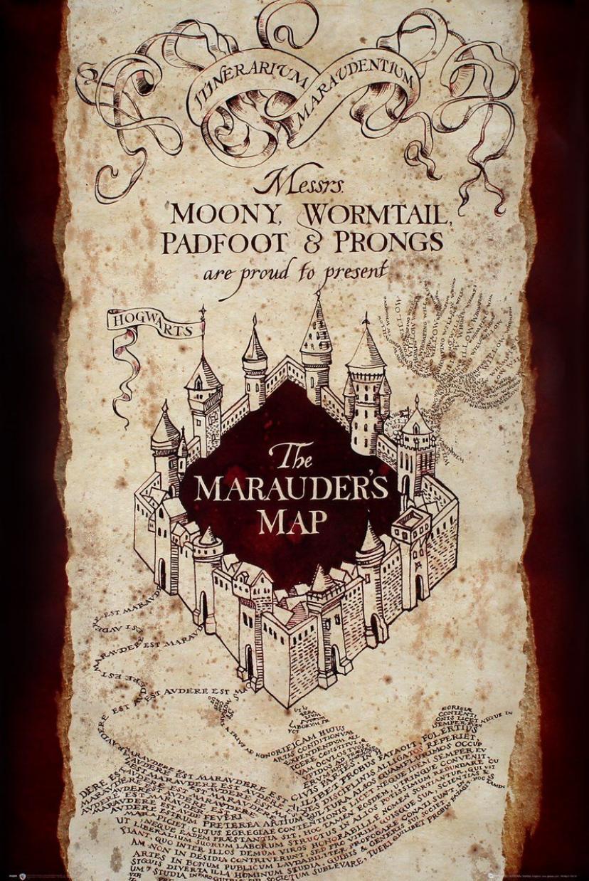 ハリーポッター 忍びの地図