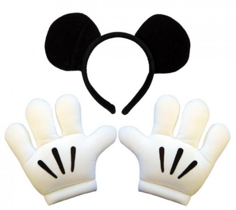 ディズニー-ヘッドバンド-グローブセット-コスチューム用小物-手袋サイズ