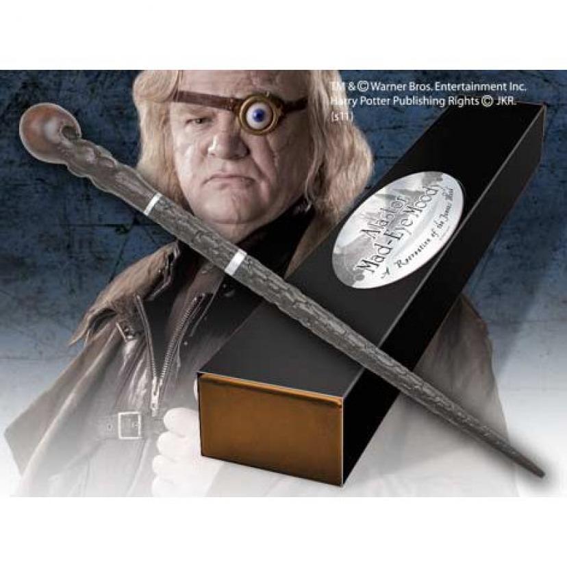 ノーブルコレクション-ハリーポッター-1-1スケール魔法の杖レプリカ-マッド-アイ・ムーディー