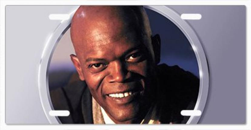 Star Wars Mace Windu Vanity License Plate Vanity License Plate