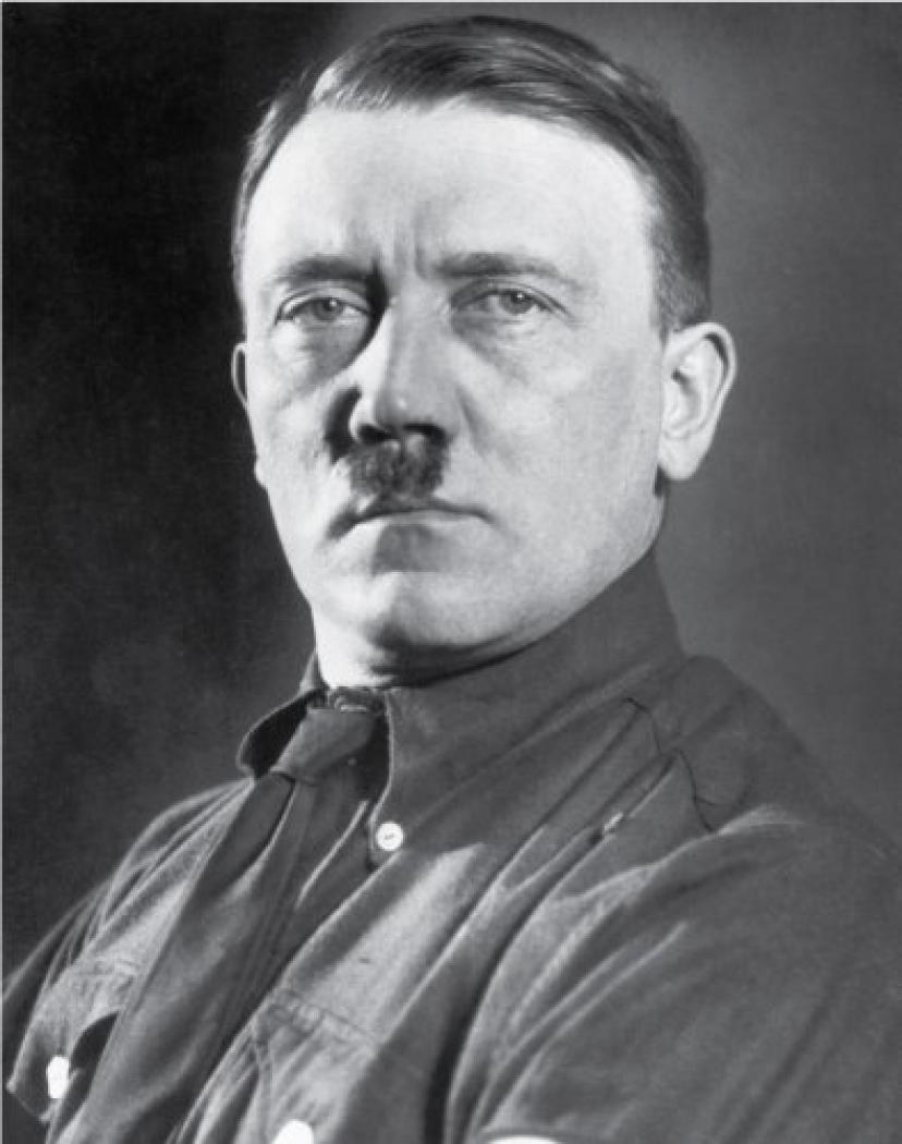 モデルはヒトラーだった?