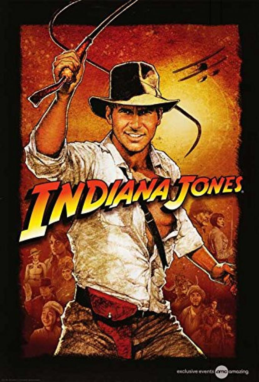 "Indiana Jones and the Temple of Doom (K) POSTER (11"" x 17"")"