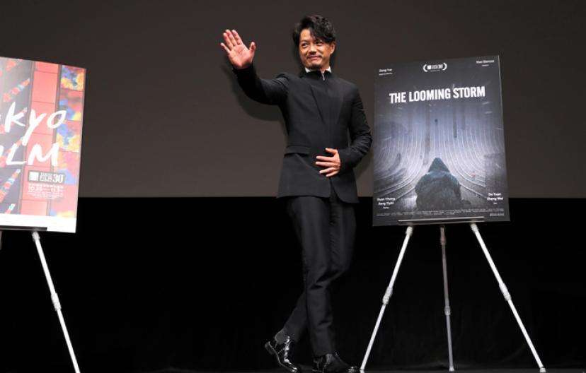 『迫り来る嵐』ドアン・イーホン 東京国際映画祭 (c)2017 TIFF