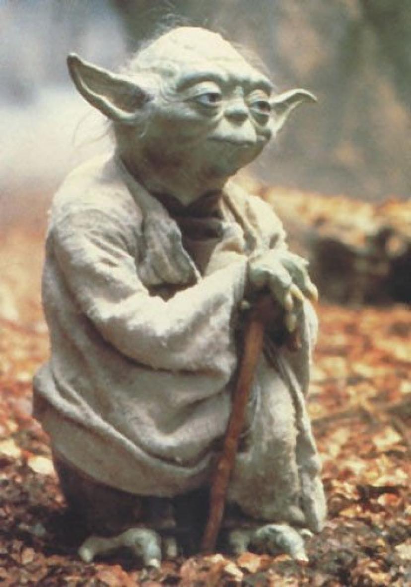 "twenty-three 24 x 36 inchcanvas poster- Episode V – 映画ポスタースプレーペイント( Yoda ) ( 24 "" x 36 "" )[ヨーダ]"