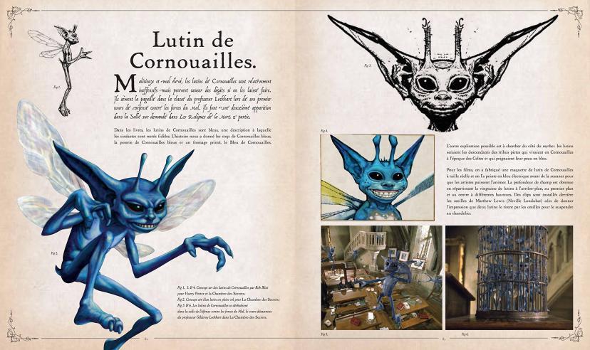 Harry Potter - Le grand livre des créatures (French) Hardcover – 13 Nov 2014[ピクシー][ハリーポッター]