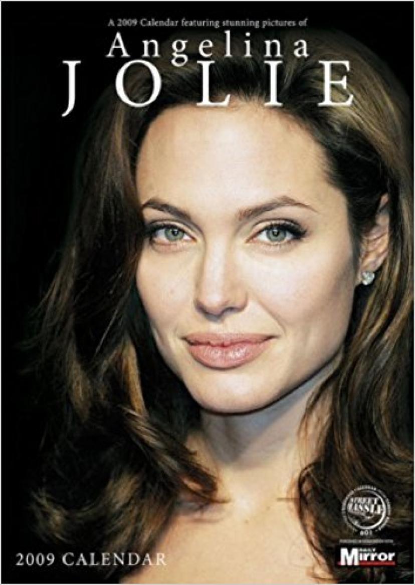 アンジェリーナ・ジョリー 2009カレンダー
