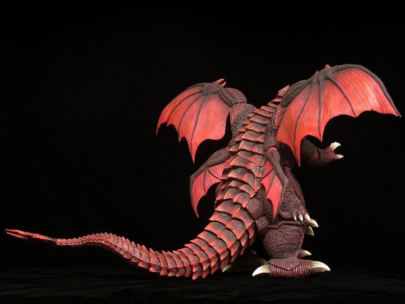 東宝大怪獣シリーズ ゴジラ vs デストロイア デストロイア 完全体 全高約340mm PVC製 塗装済み 完成品フィギュア 一部組み立て式