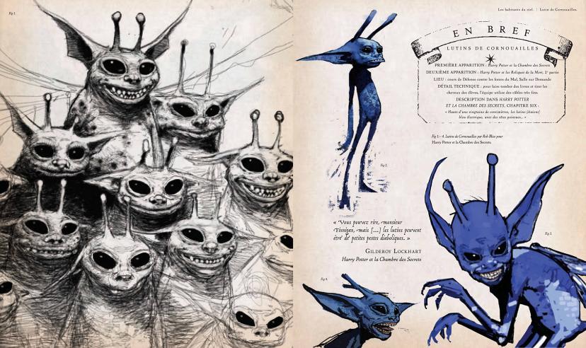 Harry Potter - Le grand livre des créatures (French) Hardcover – 13 Nov 2014[ピクシー/ハリーポッター]