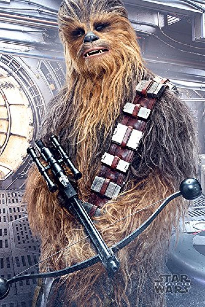 Star Wars The Last Jedi Poster Chewbacca 260 / スター ウォーズ ザ ラスト ジェダイ ポスター チューバッカ 260