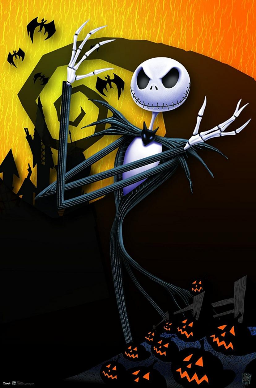 "Trends International The Nightmare Before Christmas Pumpkins Wall Poster 22.375"" x 34"""