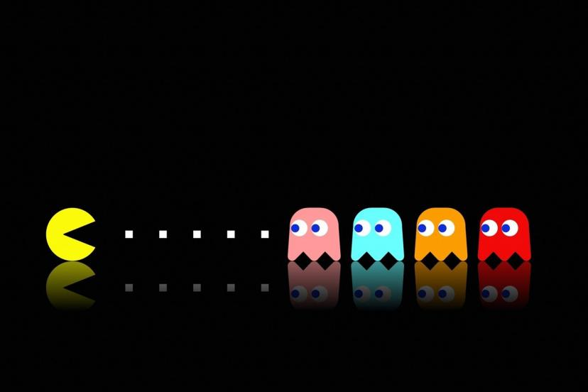 Pac Man Pac-Man Old Classic Retro Game Poster 24x36