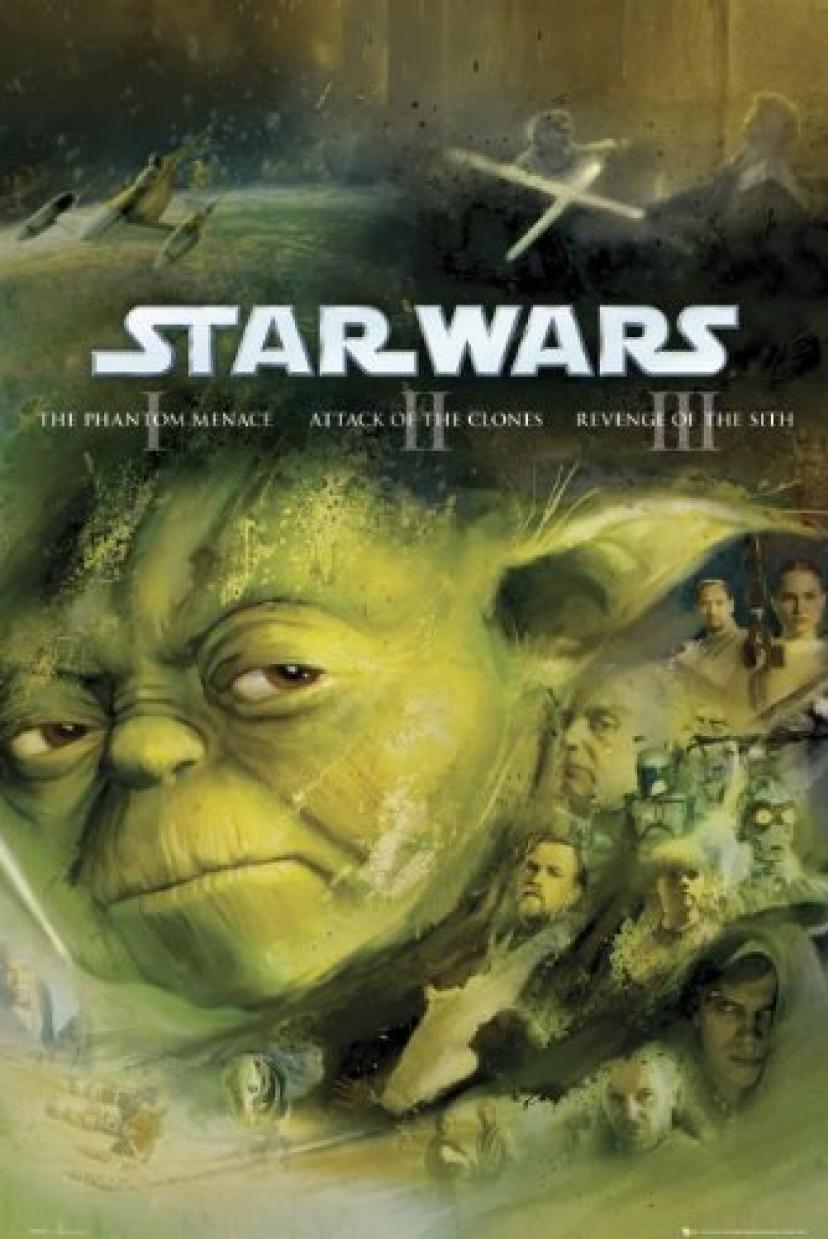 Star Wars - Jedi Empire Yoda Vader Poster - 91.5x61cm[ヨーダ]