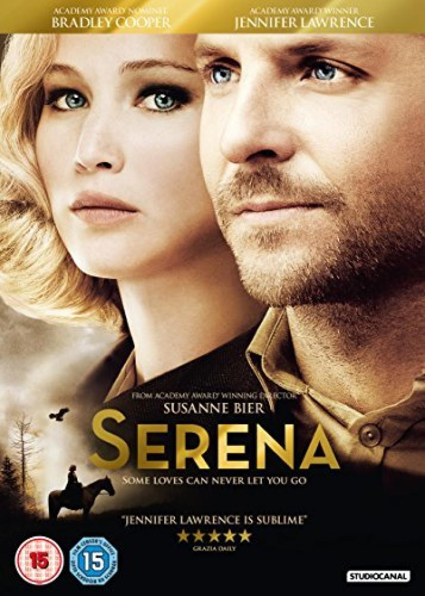Serena [DVD] by Jennifer Lawrence