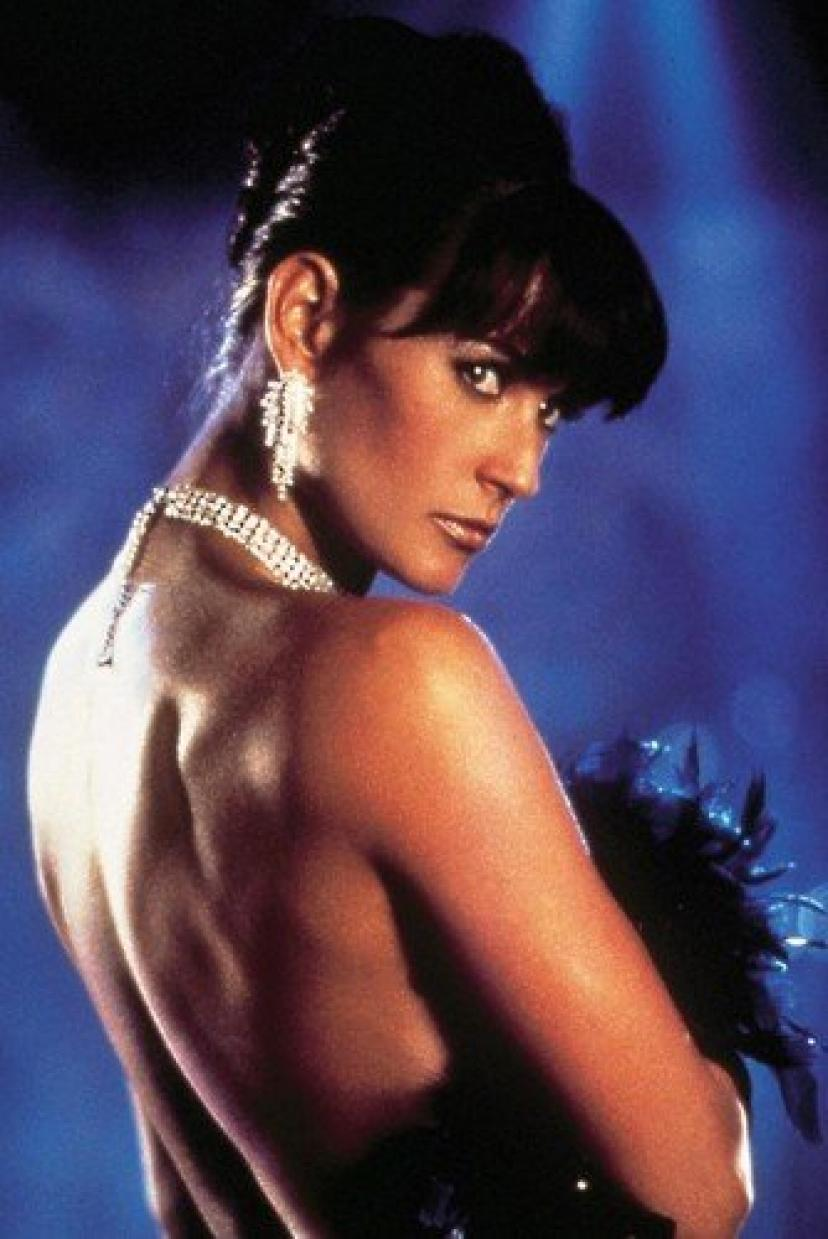 Demi Moore Striptease Bare Back Color 24x36 Poster[デミムーア][デミ・ムーア]