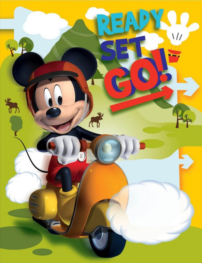 Disney Mickey Photo Album, Small[ミッキーマウス]