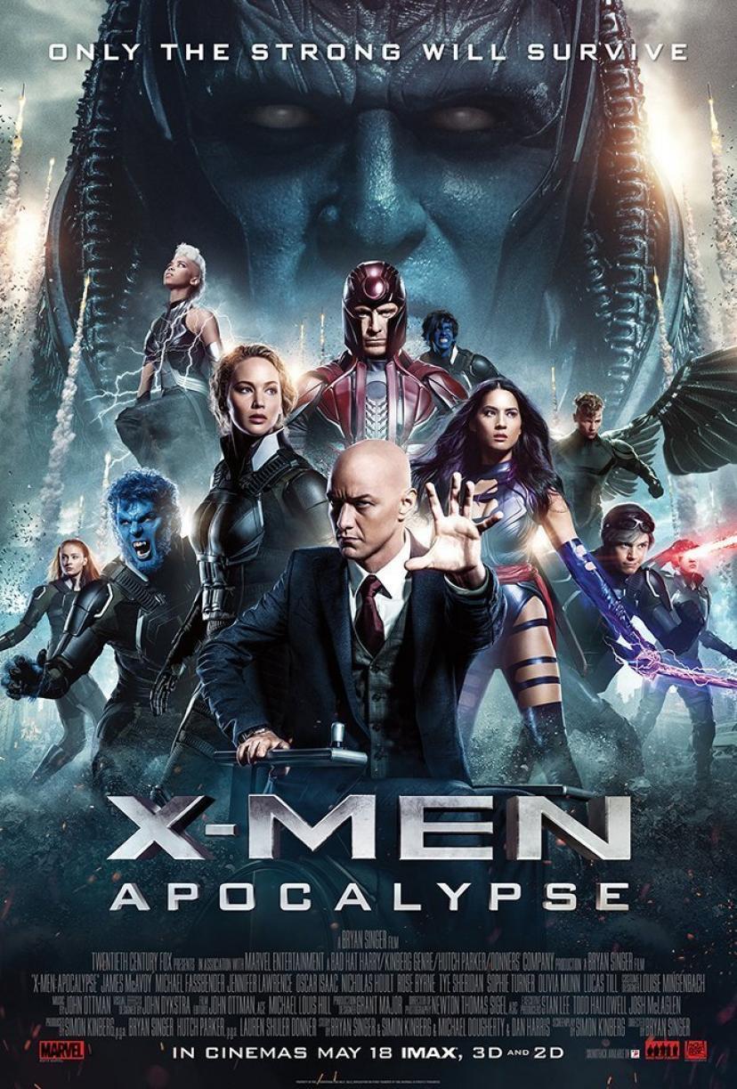 『X-MEN:アポカリプス』