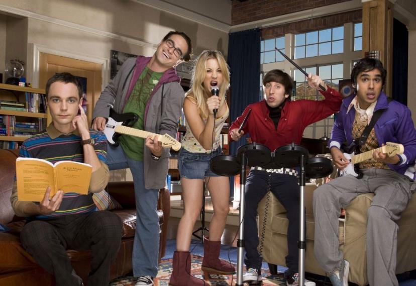 The Big Bang Theory 12 Seasons 2008[ビッグバン・セオリー ギークなボクらの恋愛法則]