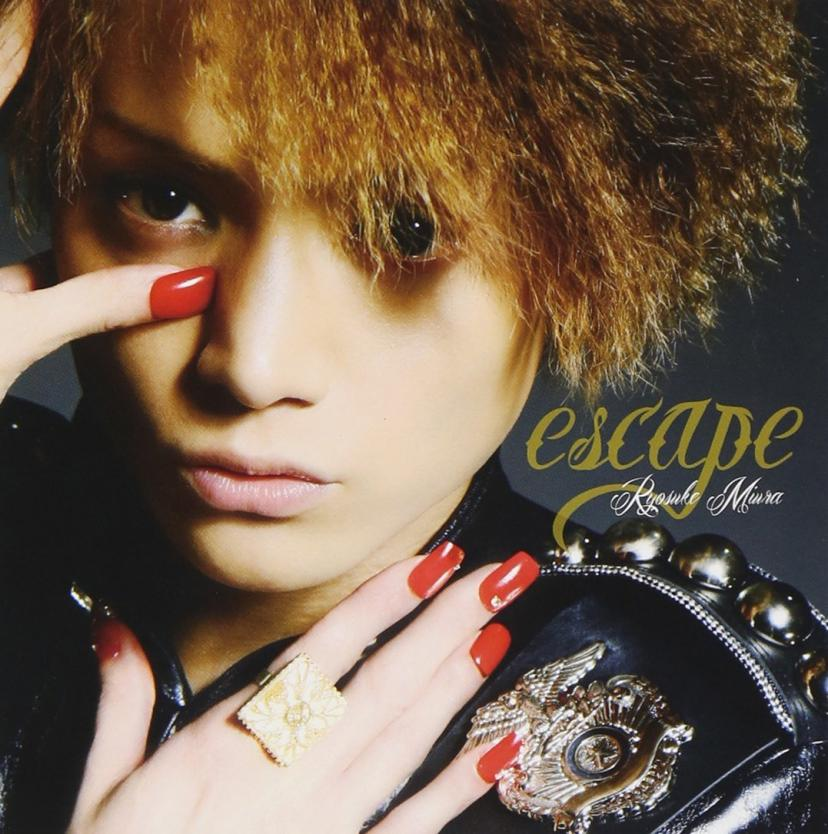 escape (SINGLE ONLY) Single, Maxi三浦涼介