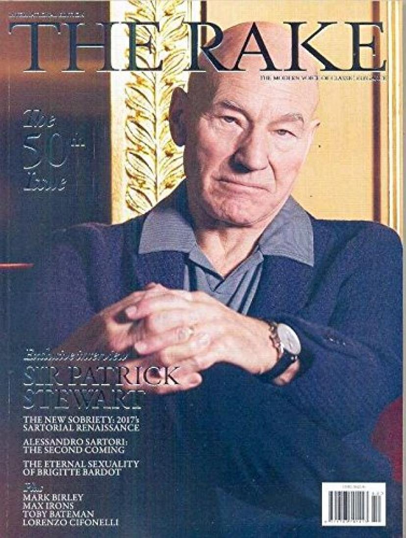 The Rake Magazine Issue 50 (March, 2017) Sir Patrick Stewart Cover